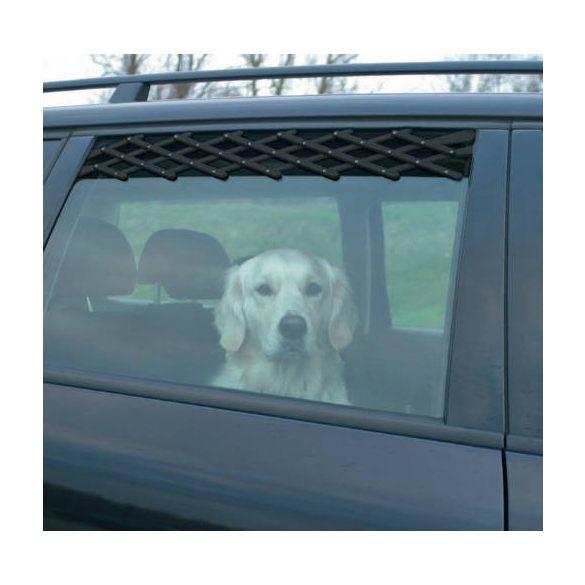 Trixie 13101 ablakrács 24-70cm,fekete