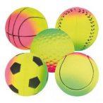Trixie 3443 játék habszivacs labda neon 6cm