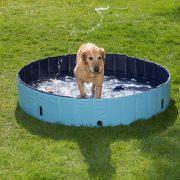 Trixie 39483 Dog Pool kutya medence 160x30cm Kék - Otthoni pancsolás Kedvencednek
