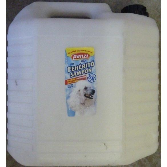 PanziPet  Sampon Kutyák Fürdetéséhez és Ápolásához  – Kutyakozmetikus kiszerelés 10L Kanna
