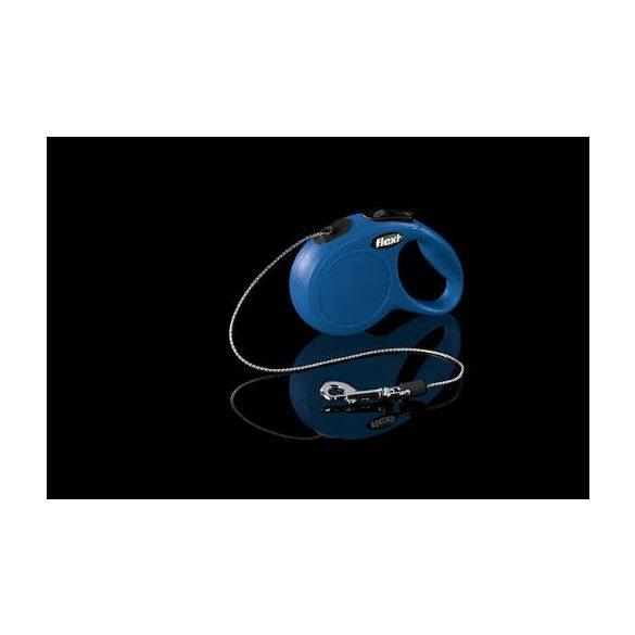 "Flexi automata póráz 022719 new cord """"S"""" blue 8m"