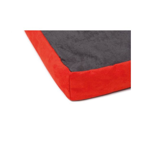 COMFY ÁGY CANDY grafit-piros 80x60x10cm