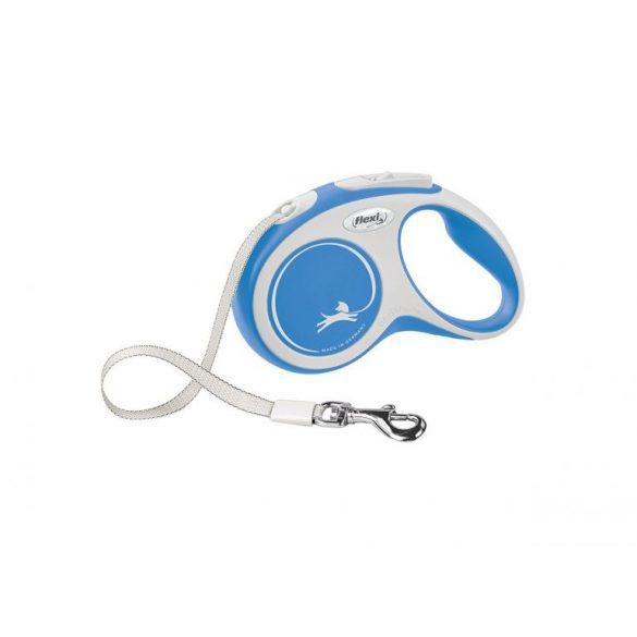 """Flexi automata póráz 028209 new comfort tape """"""""M"""""""" blue 5m"""