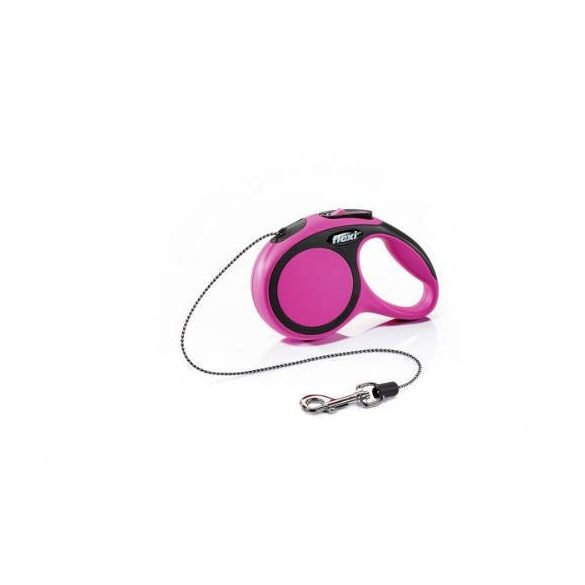 "Flexi automata póráz 028711 new comfort cord """"XS"""" pink 3m"