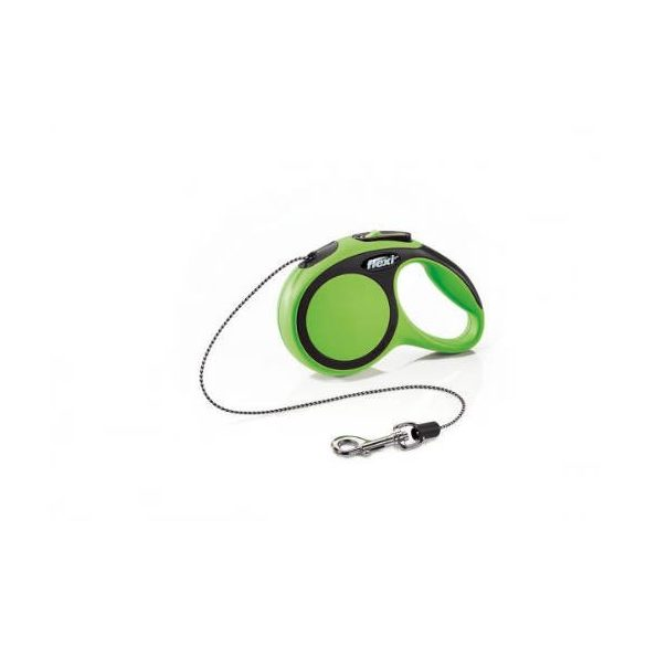 "Flexi automata póráz 028728 new comfort cord """"XS"""" green 3m"