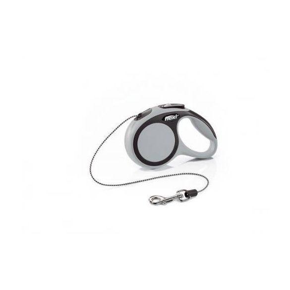 "Flexi automata póráz 028735 new comfort cord """"XS"""" grey 3m"