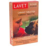 Lavet Vitamin Tabletta Kutyáknak 50db/csomag CARNIVIT