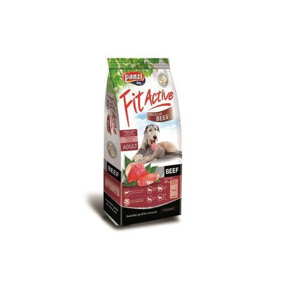 Panzi FitActive Fit Active Száraztáp Marhával 4kg Premium Beef regular