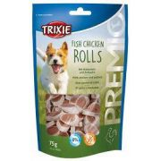 trixie 31535 Premio Light Fish-Chicken Rolls, 75g