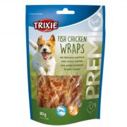 trixie 31590 Premio Fish Chicken Wraps, 80g