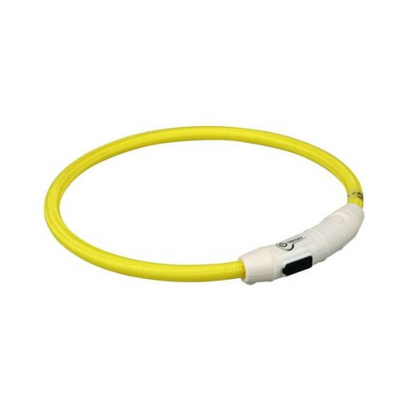 Trixie 12690 villogó nyakörv USB 35cm