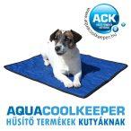 Aqua Coolkeeper hűtőpléd/hűtőmatrac/hűtőtakaró XXL 100x90cm Szétszedhető két részre!