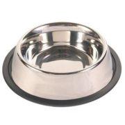 Trixie 24853 rozsdamentes acél tál, gumis, 0.9L