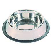 Trixie 24855 rozsdamentes acél tál, gumis, 2,8L
