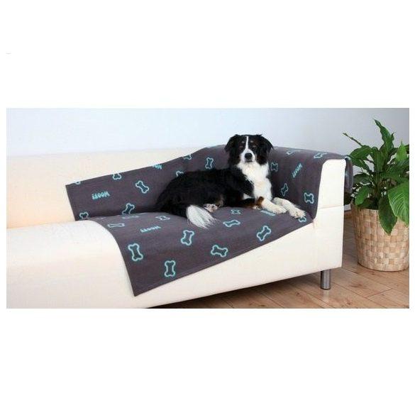 Trixie 37185 Barney takaró 150x100cm, fekete/szürke