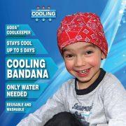 Aqua Coolkeeper hűtőkendő, hűsítőkendő gyerekeknek