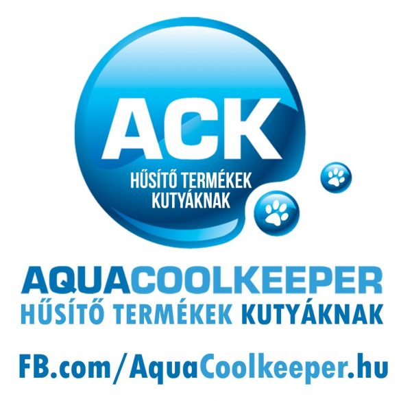 Aqua Coolkeeper hűtőkabát, hűsítőkabát S (48-68cm,hossz:38cm) RAKTÁRON