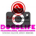 Mixnature Collar Türkizskék bőr kakizacskó tartó