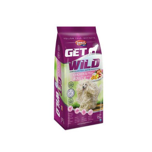 Panzi GetWild 15kg ADULT Chicken&Fish