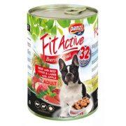 PanziPet FitActive DOG 1240g konzerv marha-máj-bárány