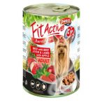 PanziPet FitActive DOG 415g konzerv marha-máj-bárány