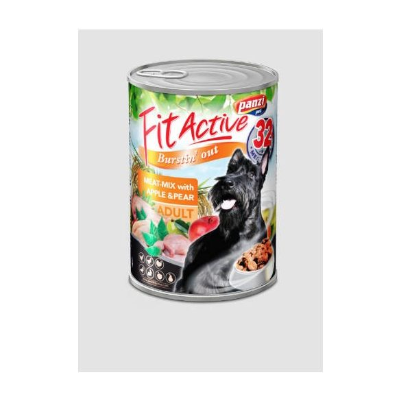 PanziPet FitActive DOG 1240g konzerv meat-mix