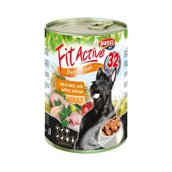 PanziPet FitActive DOG 415g konzerv meat-mix