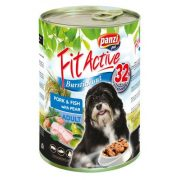 PanziPet FitActive DOG 1240g konzerv sertés-hal