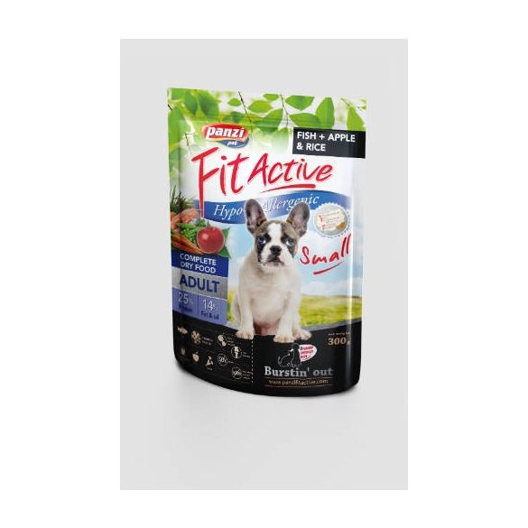 PanziPet FitActive DOG 300g Hypoallergenic Small Fit Active
