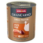 Animonda GranCarno Single Protein Pute Pur Pulyka 800g