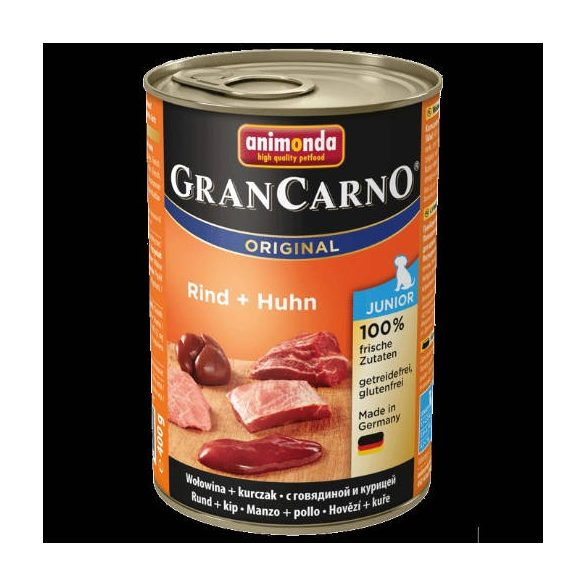 Animonda GranCarno  400g 82729 junior marha-csirke