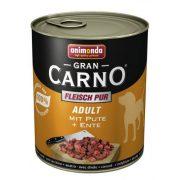 Animonda GranCarno  800g 82747 adult marha + kacsaszív