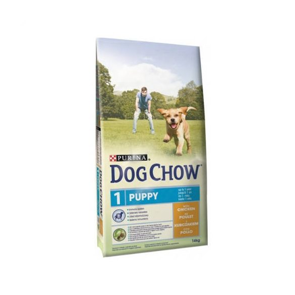 Purina Dog Chow Junior Csirke 14KG