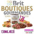 Brit Boutiques Gourmandes Lamb Bits & Paté 12x400gr. - Szuperprémium Bárányhúsos Pástétom