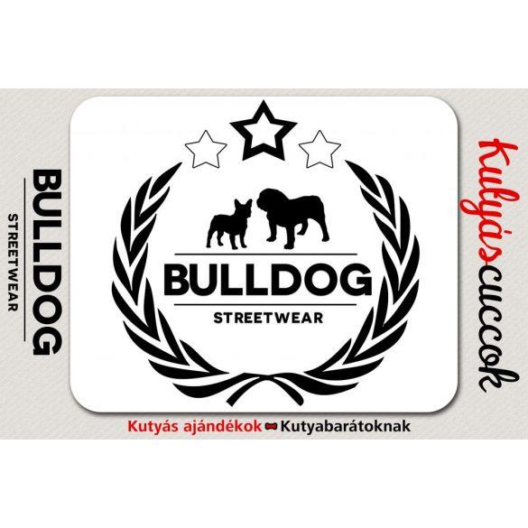 Bulldogos Egérpad - Bulldog Streetwear Koszorús Logo