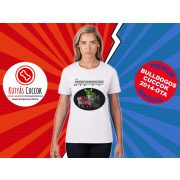 Bulldogos Női Póló - Bulldog Streetwear Comic Kollekció Frenchiewengers mintával