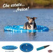 Trixie Hűsítő Felfújható Gumicsónak (Úszó nyári vízi hűsítés kutyáknak) S-M 97x65cm 15kg-ig