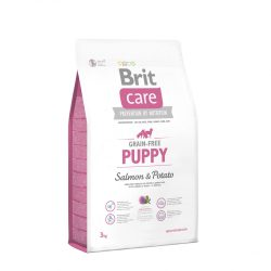 Brit Care Hypoallergenic Puppy Large Breed 3kg Gabonamentes Száraztáp Grain Free Salmon&Potato
