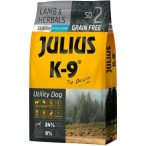 Julius-K9 GF Hypoallergenic Senior Lamb & Herbals - Gabonamentes Szuperprémium táp Báránnyal és Gyógynövényekkel 3kg.