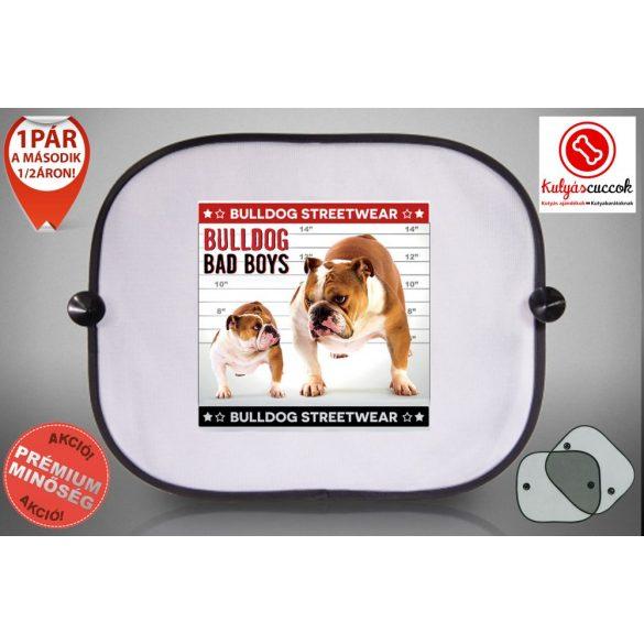 Autós Napellenző - Bulldog Streetwear Bad Boys Two Bulldog