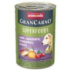 Animonda GranCarno Adult Superfoods Bárány + amaránt, áfonya, lazacolaj  400g