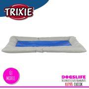Trixie Luxury Hűsítő zselés fekhely 90x55 cm-es Kék (hűsítő matrac/hűtőmatrac/hűtőtakaró/hűtőpléd)