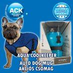 Aqua Coolkeeper hűtőkabát, hűsítőkabát XXS + Aqua Dog - Hordozható Kutyakulacs AKCIÓS CSOMAG (32-46cm hossz: 25cm)