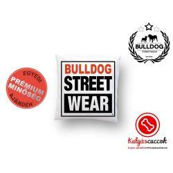 Párna Bulldog Bulldog Streetwear Vision Logo 35x35cm