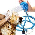 Kézi masszírozó zuhany kutyáknak RAKTÁRRÓL!