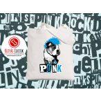 Bulldogos vászontáska British Punk Bulldog mintával BulldogArt Kollekció