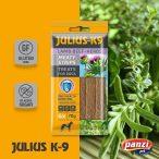 Julius-K9 Lamb & Herbals Meaty Strips - bárányhúsos és gyógynövényes húslapok - kutyáknak.  70 g, 4 db húslap.