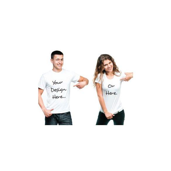Saját fényképes, egyedi mintás vagy egyedi feliratos női póló