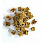 Prémium Snack - Halhús Kockák 75 gr. Természetes Kutyavilág  - Natúr Szárított Jutalomfalat
