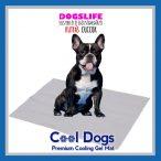 Dogs Life Cool Dogs Hűsítő zselés matrac 45x60 cm-es Szürke (hűsítő matrac/hűtőmatrac/hűtőtakaró/hűtőpléd)